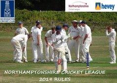 Northamptonshire Cricket League 2019 Rules