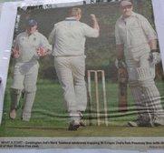 Geddington Cricket Club Backtrack
