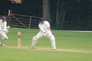 Jack Parker Batting for Geddington T20 XI V Burton Latimer T20 XI At Burton Latimer Cricket Club. 9th June 2019.