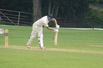 Bradley Armer Batting for Geddington T20 XI V Burton Latimer T20 XI At Burton Latimer Cricket Club. 9th June 2019.