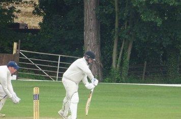 Chris Harrison Batting for Geddington T20 XI V Burton Latimer T20 XI At Burton Latimer Cricket Club. 9th June 2019.