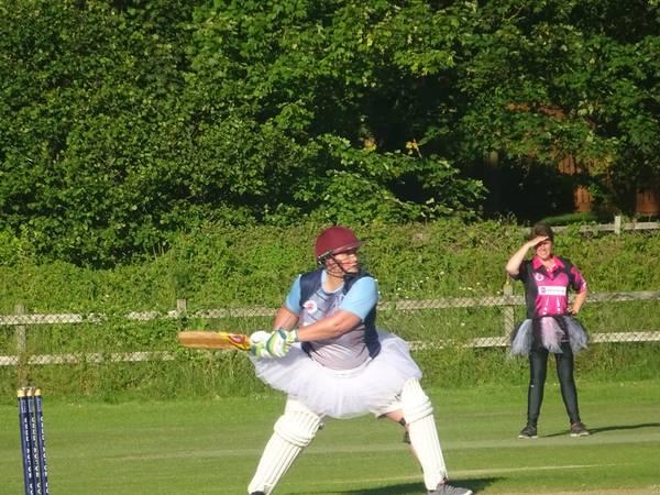 Geddington Ladies V Burton Latimer Ladies At Geddington Cricket Club. 5th July 2019.