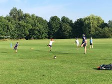 Pictures From The First Geddington CC Junior Training Session Of The Summer - Friday 26th June 2020.