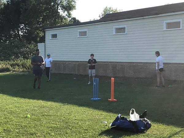 First Geddington CC Junior Training Session - Friday 26th June 2020 at Geddington Cricket Club Picture.