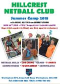 Summer Camp 2018 with Mikki Austin from Surrey Storm