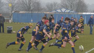 Loughborough U15 v Hinckley - County Cup Semi Final 13th March 2016