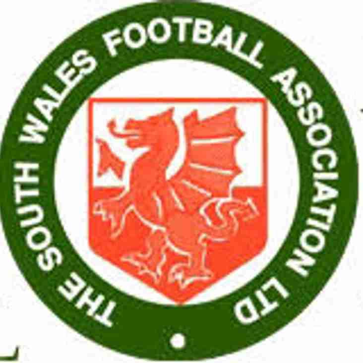 SWFA Senior Cup Draw - Round 3