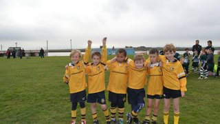 Burnham U9's continue to show progress against Basildon