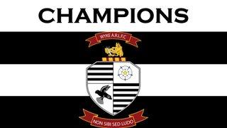 Wyke complete unbeaten season at Keighley
