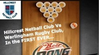 HNC v WRFC Beer Pong Challenge 24th March 2018