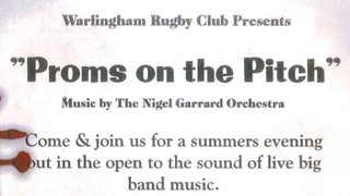 Proms on the Pitch 25th August 4pm