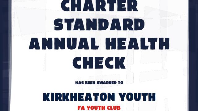 FA Charter Standard yet again at KYFC