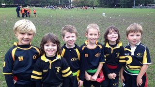 Team playing at Wimbledon - First U7s Festival