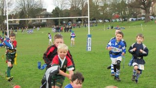 Under 7s at Camelot