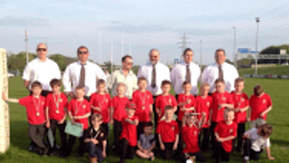 Clean Sweep for the Under 8's