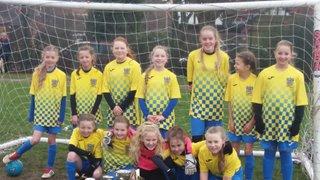 Bootle Girls U11s Win St Annes Tournament