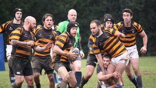 Seniors v Old Glynonians 04.01.14