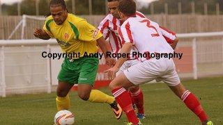 Evesham United v Stourbridge (FA Cup) 14/09/2013