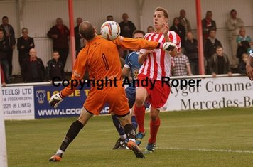 Ben chips Town 'keeper Lee Evans