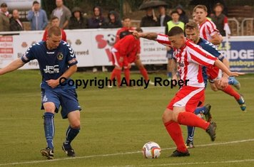 The Stourbridge number 7 creates space.....
