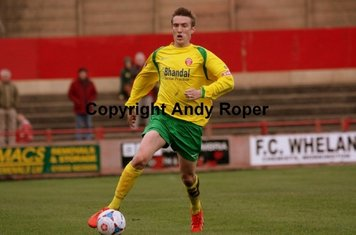 Aaron on the charge forwards.....