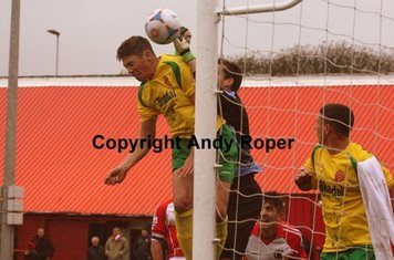 .....and to head home the second Stourbridge goal of the day.