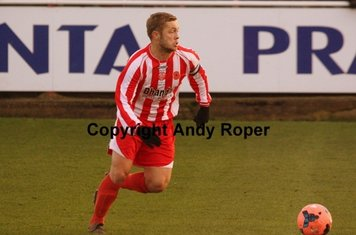 Sean in control of the midfield.....