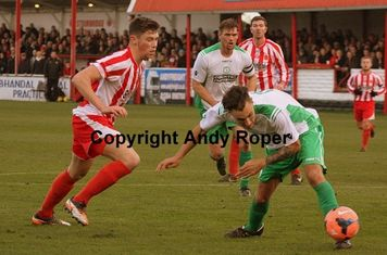 Will battles with Biggleswade number 11 Lee Read.....