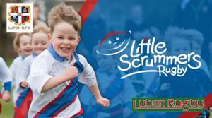 Little Scrummers are coming to Luton RFC