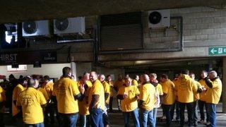 Team Yellow invade HQ