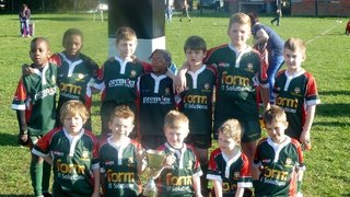 Under 8's Retain Beds County Cup