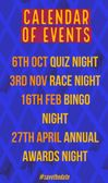 Calendar of Club Social Events