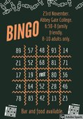 THEE AND ME IT'S 23... Bingo evening on the 23rd November