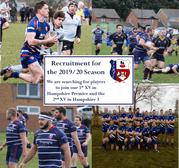 Players, Volunteers and Supporters Wanted for the 2019/2020 season