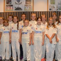 Under 11s at the Club dinner