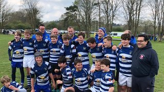 Awesome U13s win at Surrey Final