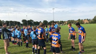 Excellent  first Cup game win for Romsey U14s