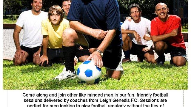 Mens Social Football