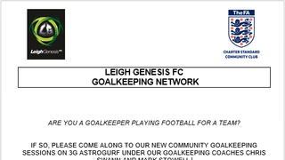 Goalkeeper Network