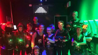U10 Nuclear Lazer quest and bowling 2018...