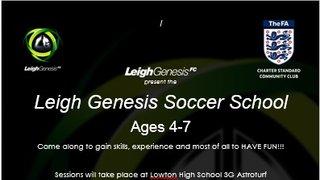 Under 5 Soccer School