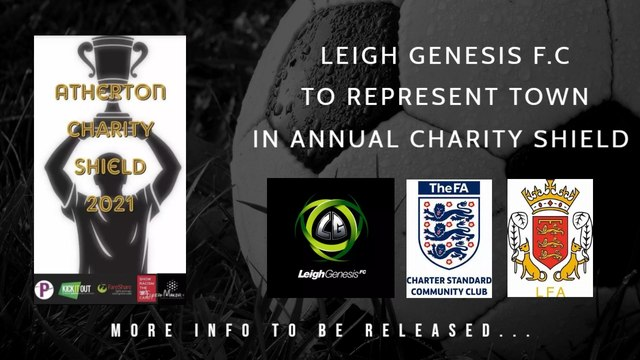 Leigh Genesis to Represent Town in Charity Shield Event...