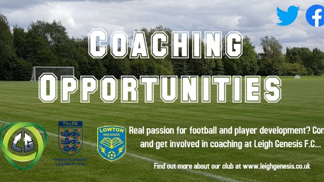 Come and Get Involved in Coaching at our club...