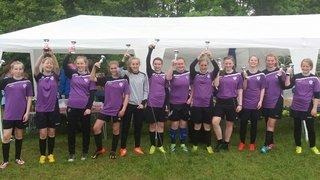 U14 girls win tournament