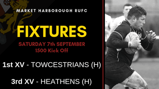 FIXTURES | Saturday 7th September