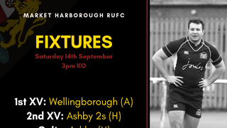 Fixtures - Saturday 14th September