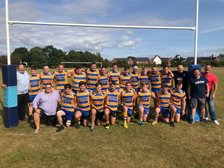 OL's Barbarians win against the Seniors of Rugby St Andrews