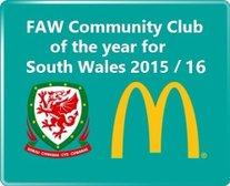 FAW Community Club of the Year Winners