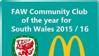FAW Community Club of the Year Winners