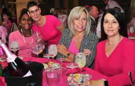 Cancer fundraising lunch prior the the visit of London Welsh